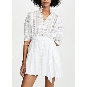 Free People Sydney Mini Dress Boho Lace xs